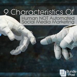 Human characteristics of social media marketing